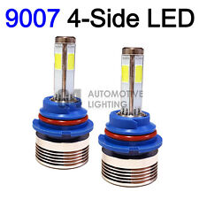 2x 4-Side HB5 9007 LED Headlight Kit Bulbs 80W Super Bright 6000K Crystal White