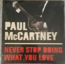 2005 Fidelity promo Paul McCartney Never Stop Doing What You Love Music CD NIP