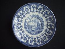 Ironstone Blue Staffordshire Pottery Cups & Saucers