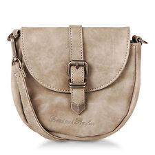 Damentaschen im Schultertaschen-Stil aus Kunstleder mit Verstellbare Trageriemen und Magnetverschluss