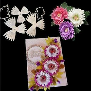 Flower Metal Cutting Dies Stencil Template Scrapbooking Embossing Cards Craft
