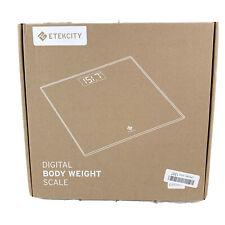 Etekcity Stainless Steel Digital Body Weight Bathroom Scale, Step-On Technology