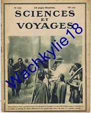 Sciences et voyages 132 09/03/1922 Tuile Vautour Maroc Noyer Laminoir Saint-Paul