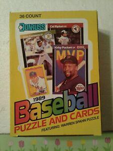 Case fresh 1989 Donruss Baseball Wax Box 36 Packs 15 Cards Per Pack Griffey Rook