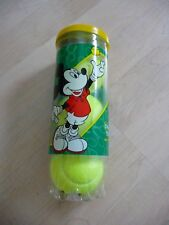 Vintage Disney Wilson Tennis Balls Mickey Mouse 3 Ball Can