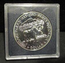 1985 Canada National Parks Dollar - Royal Canadian Mint - Original Box