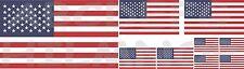 9 ADESIVI BANDIERA USA FLAG STATI UNITI AMERICA AUTO IMPERMEABILI STICKER VINILE