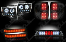 2009-2014 Ford F-150 & Raptor SVT Smoked LED Headlights Tail Lights Turn Signals