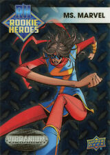 Marvel Vibranium Rookie Heroes Chase Card RH-10 Ms. Marvel