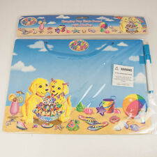 Lisa Frank Puppies Dry Erase Board  w/ Marker 8 x 11 New