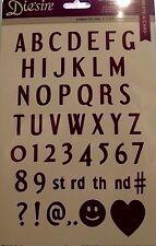 "0.5"" Alphabet - Crafters Companion Die'sire Diesire  Create a Card Dies"