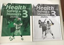 A Beka HEALTH SAFETY & MANNERS Grade 3 Tests, Quizzes & Worksheets + Teacher Key