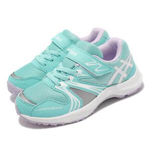 Asics Lazerbeam KA-MG Blue White Kids Preschool Running Sports Shoe 1154A109-404