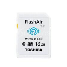 Toshiba FlashAir III W-03 16GB Wireless SDHC Cards