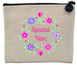 SPECIAL FRIEND/MUM/AUNT/DAUGHTER/NAN/SISTER Coin Purse / Accessory Case / Gift