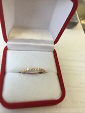 14 Kt Rose Gold Eternity Ring