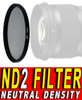 FILTRO NEUTRAL DENSITY ND2 ND 2 ADATTO A Fujifilm XF 18-55mm F2.8-4 R LM OIS 58M