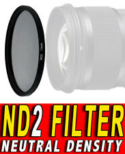 FILTRO NEUTRAL DENSITY ND2 FILTER NEUTRO ND ADATTO A Canon EF 28mm f1.8 USM 58M