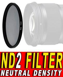 FILTRO NEUTRAL DENSITY ND2 NEUTRO FILTER ND 2 ADATTO PER Canon EF 24mm f/2.8 58M