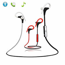 A2DP Sports Earbuds Bluetooth Headset Stereo Headphone for Running Gym Workout