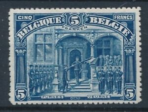 [30805] Belgium 1915 FRANKEN Good stamp VF Mint no gum High CV