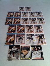 *****Steve Weeks*****  Lot of 23 cards.....7 DIFFERENT / Hockey