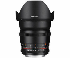 Canon EF Camera Wide Angle Lenses 16mm Focal