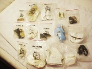 Doll Shoes Boots Lot 15 Pair NOS New Old Stock Play House Collection Free Ship