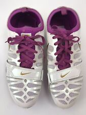 Nike Zoom Celar Womens Running 456816-174 Track Field Spikes Shoes Size 8