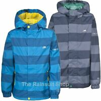 TRESPASS BOYS WATERPROOF AHOY HOODED RAIN JACKET COAT KIDS CHILDS 3-12yrs
