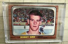 1966-67 Topps Bobby Orr Rookie Card Original Printing.
