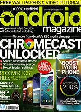 ANDROID Magazine #61 CHROMECAST UNLOCKED Best Camera Phones MOTO 360 SPORT @New@