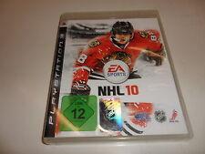 PlayStation 3  PS 3  NHL 10