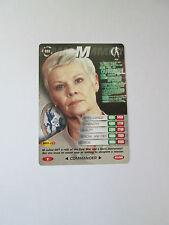 James Bond 007 Spy Common card 035 M (Test series)