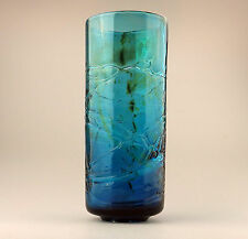 Maltese Mdina Art Glass : A large ' texture ' glass Vase - circa 1960's/70