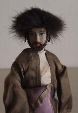 Judaica Beautiful Ornamental Chassid with Shtreimel FAB Handmade Figurine Israel