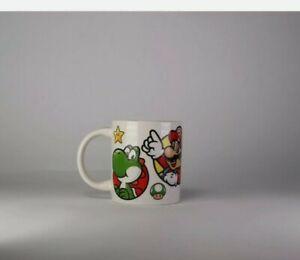 Nintendo Super Mario Mug Cup Ceramic 2013 Yoshi Luigi Waluigi Collectable