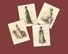 Regency Print Collection Riding, Walking Jane Austen Style Fashion Ackermann