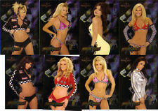 2005  Benchwarmer  Complete 12 Card Set  Racer Girls