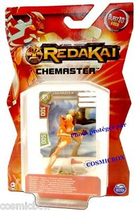 REDAKAI figurine et carte CHEMASTER blast x-drive figure card figurilla figuren
