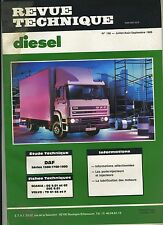 (3B)REVUE TECHNIQUE DIESEL DAF 1300-1700-1900 / SCANIA DS DSC  / VOLVO TD 61 GS