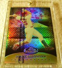 MARK MCGWIRE 1999 TOPPS TEAM FINEST GOLD REFRACTOR PARALLEL #TF2 SERIAL #18/25