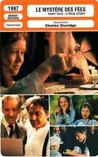 FICHE CINEMA : LE MYSTERE DES FEES - McGann,Hoath 1997 Fairy Tale - A True Story
