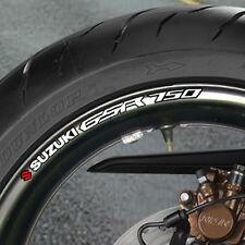 SUZUKI GSR 750 WHEEL RIM STICKERS  DECALS NAKED  B