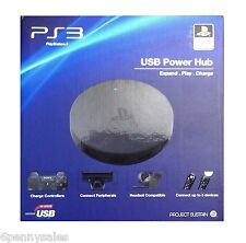 SONY Playstation 3 PS3 USB Power Hub Charger Controller Headset 5 Port NEW SEAL