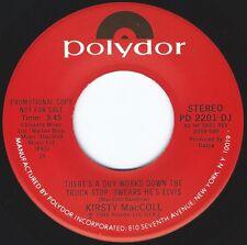 KIRSTY MacCOLL Guy At Truckstop Swears He's Elvis ((**NEW 45 DJ**)) from 1981