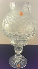 Tyrone Crystal Glass Tealight/Candle Holder & Shade Collectible