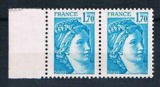 A1259 - TIMBRE DE FRANCE - N° 1976 b Variété sans Phosphore Neuf**  en Paire