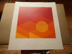 Kunstdruck, welcher Art ?, Original, signiert, limitiert, 1975, RAR