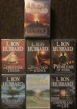 DIANETICS & SCIENTOLOGY BEGINNING AUDIOBOOKS PACKAGE - Free Shipping! - NEW!